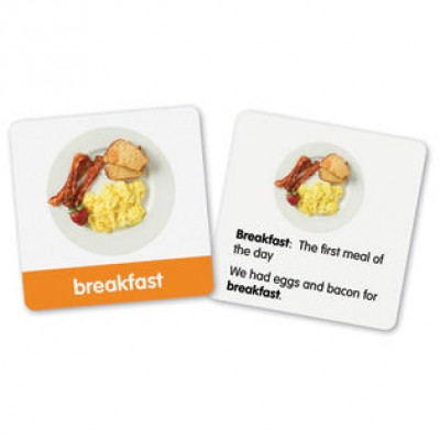First Grade Vocabulary Photo Cards, Set of 150