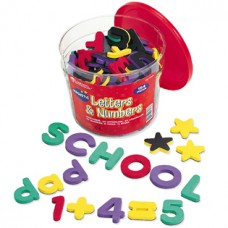 Magnetic Foam Letters & Numbers Deluxe Set, Set of 154