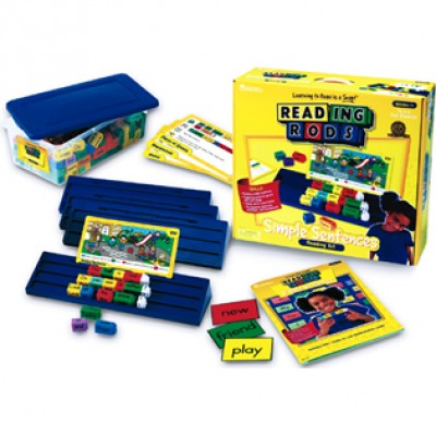 Reading Rods® Simple Sentences Kit