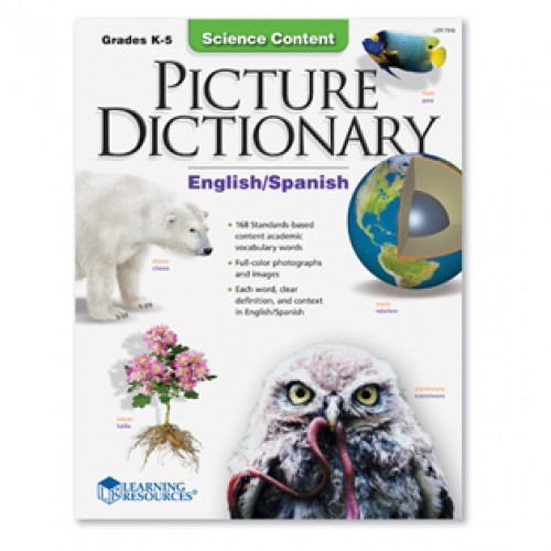 Science Content Picture Dictionary (Eng/Span)