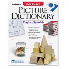 Math Content Picture Dictionary (Eng/Span)