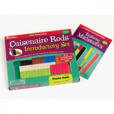 Cuisenaire® Rods Introductory Set, Plastic