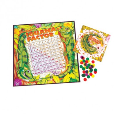 The Iguana Factor™ Multiplication Game