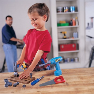 Pretend & Play® Work Belt Tool Set