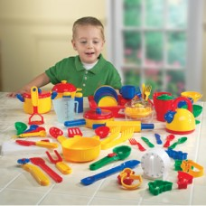 Pretend & Play® Kitchen Set, Set of 70