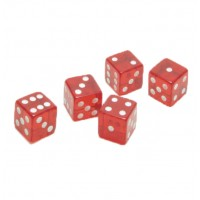 19mm Transparent Dot Dice