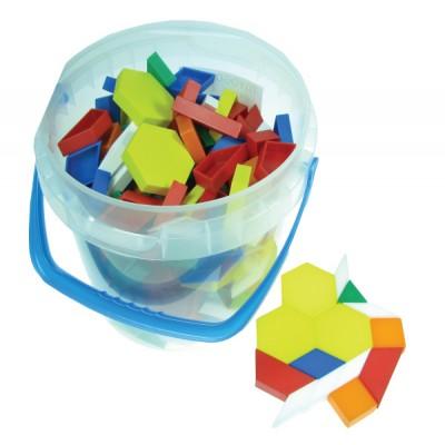 Plastic Pattern Block, 1cm, Set of 250