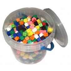 Interlocking Centimeter Cubes, Set of 1000