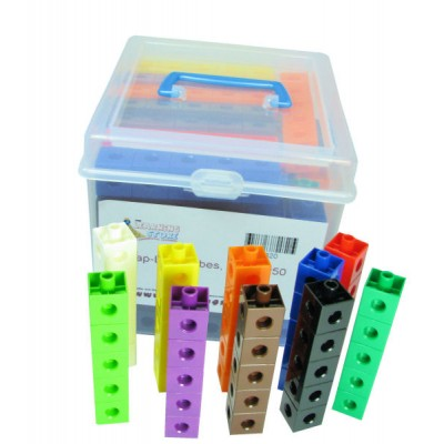 Multi - Link (Snap Link) Cubes, Set of 250 in container
