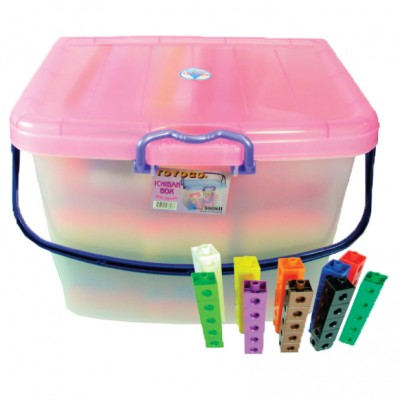 Classpack Snap-Link Cubes, Set of 2000
