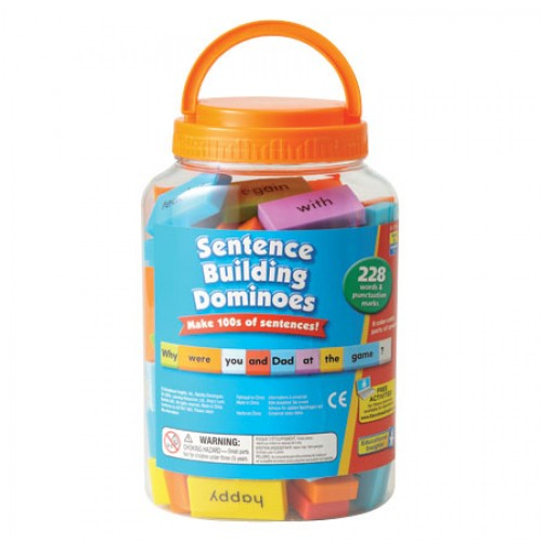 Sentence-Building Dominoes