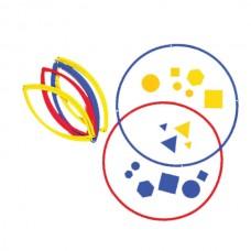 Sorting Circles, Set of 6