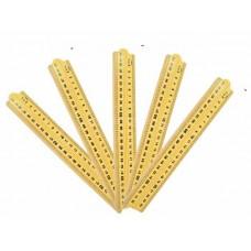 Folding Meter Stick, Set of 5