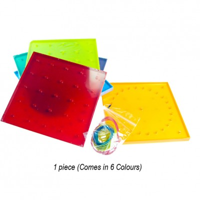 Double Sided 5 pin x 5pin Geoboard