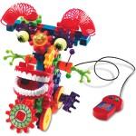 Gears! Gears! Gears!® Motorized Wacky Wigglers® Building Set, Set of 130
