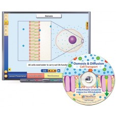 Osmosis & Diffusion: Cell Transport Multimedia Lesson - (Single User License)