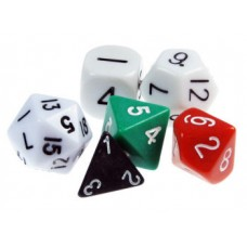 Polyhedral Dice (Set of 6)