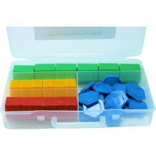 Hexagon Plastic Weights