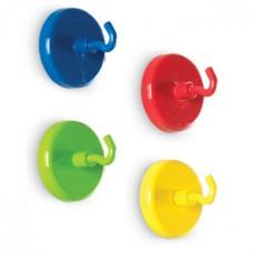 Super Strong Magnetic Hooks, Set of 4
