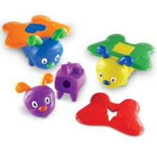 Snap-n-Learn™ Shape Butterflies, Set of 5