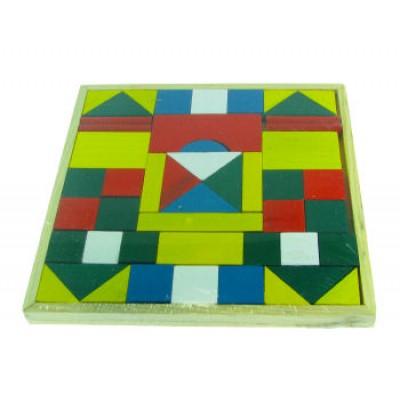 Wooden Square Puzzle