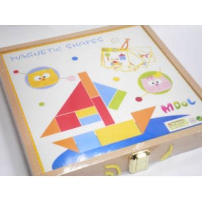 Magnetic Puzzle Blocks