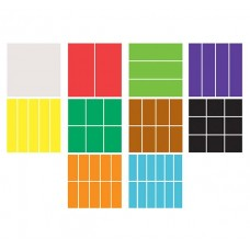 Fraction Squares - Set of 60 pieces