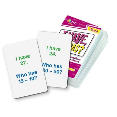 I Have, Who Has? Basic Operations - Subtraction