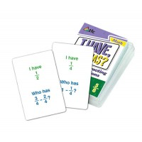 I Have, Who Has? Subtracting Fractions - Common Denominator