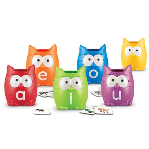 Vowel Owls Sorting Set - Learning Resources