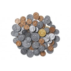 Coins in a Bag Set of 96 - US Currency
