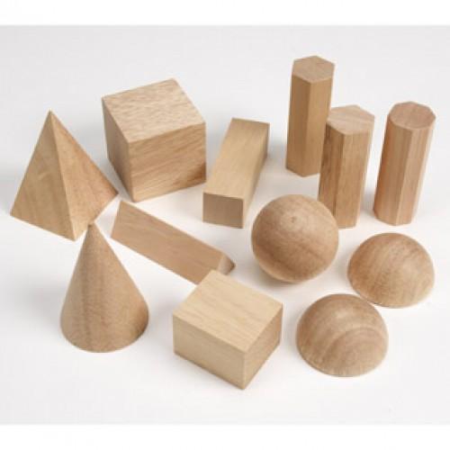 Geometric Solids, Set of 12