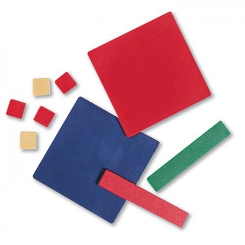 Plastic Algebra Tiles Student Set