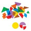 Translucent Geometric Shapes (Set of 408)