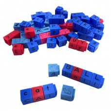 Reading Rods Alphabet and Phonemic Awareness Linking Letter Cubes