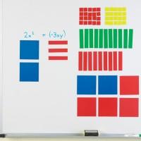 Magnetic Algebra Tiles