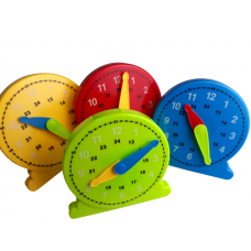 Large Student Clock , Set of 4