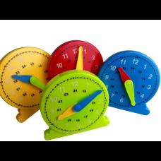 Large Student Clock , Set of 4