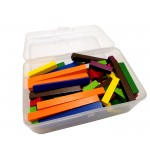 Wooden Fraction Bars (Cuisenaire Rods) , Set of 148