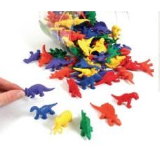 Mini Dino Counters, Set of 128