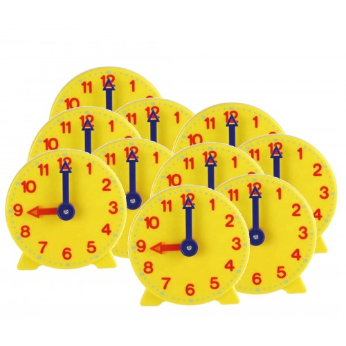 Geared Student Clock , set of 10
