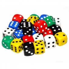 Dot Dice, 22mm , Set of 24