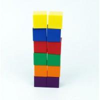 Colour Cubes, 2.5cm , Set of 102 Pieces