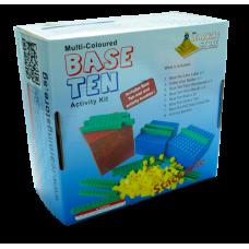 Stackable Multi-coloured Base Ten