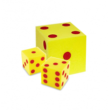 Large Foam Dice Combo Set