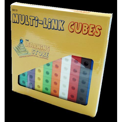 Multi - Link (Snap Link) Cubes , Set of 100pcs