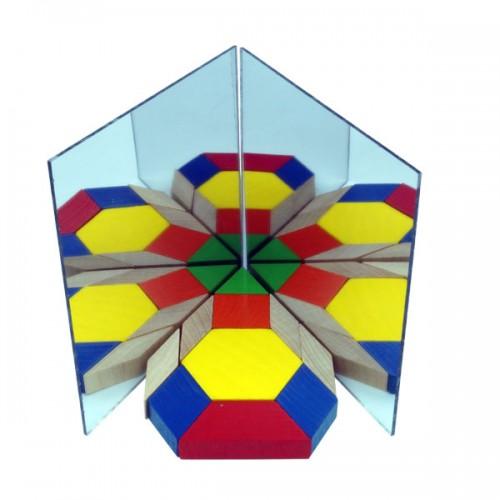 Acrylic Mirrors , Set of 10