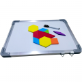 Double Sided Magnetic Whiteboard A3