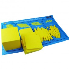 Plastic Yellow Base Ten Set