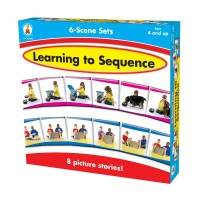 Learning to Sequence 6-Scene Board Game